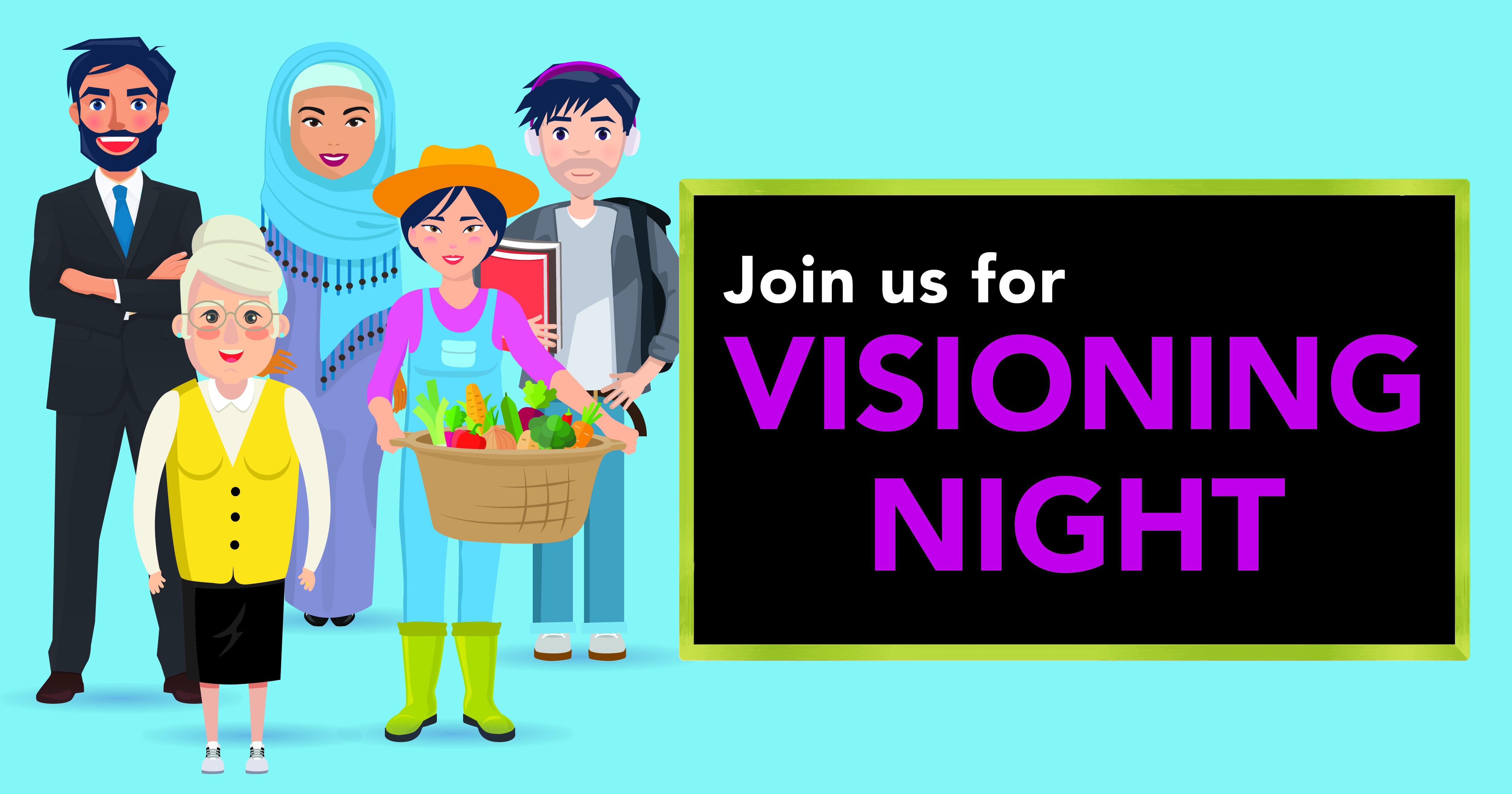 Invitation to Visioning Night