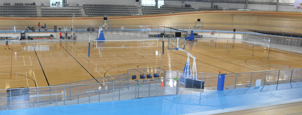 picture of the gymnasium at the Velodrome
