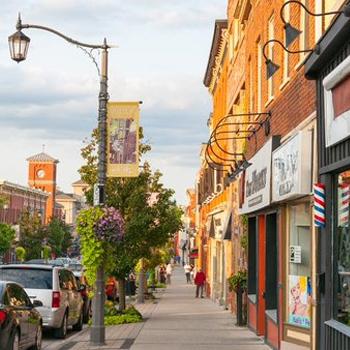 photo of downtown milton