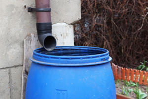 photo of water barrel