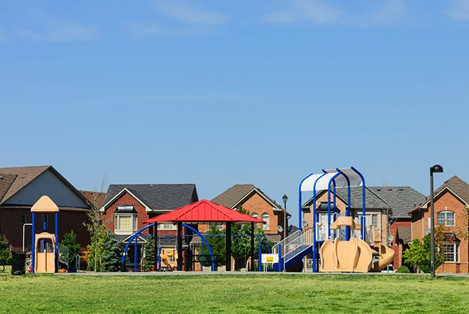 Picture of a play ground