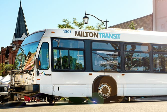 Picture of Milton's bus